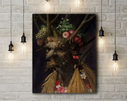 Arcimboldo: Four Seasons in One Head. Fine Art Canvas.